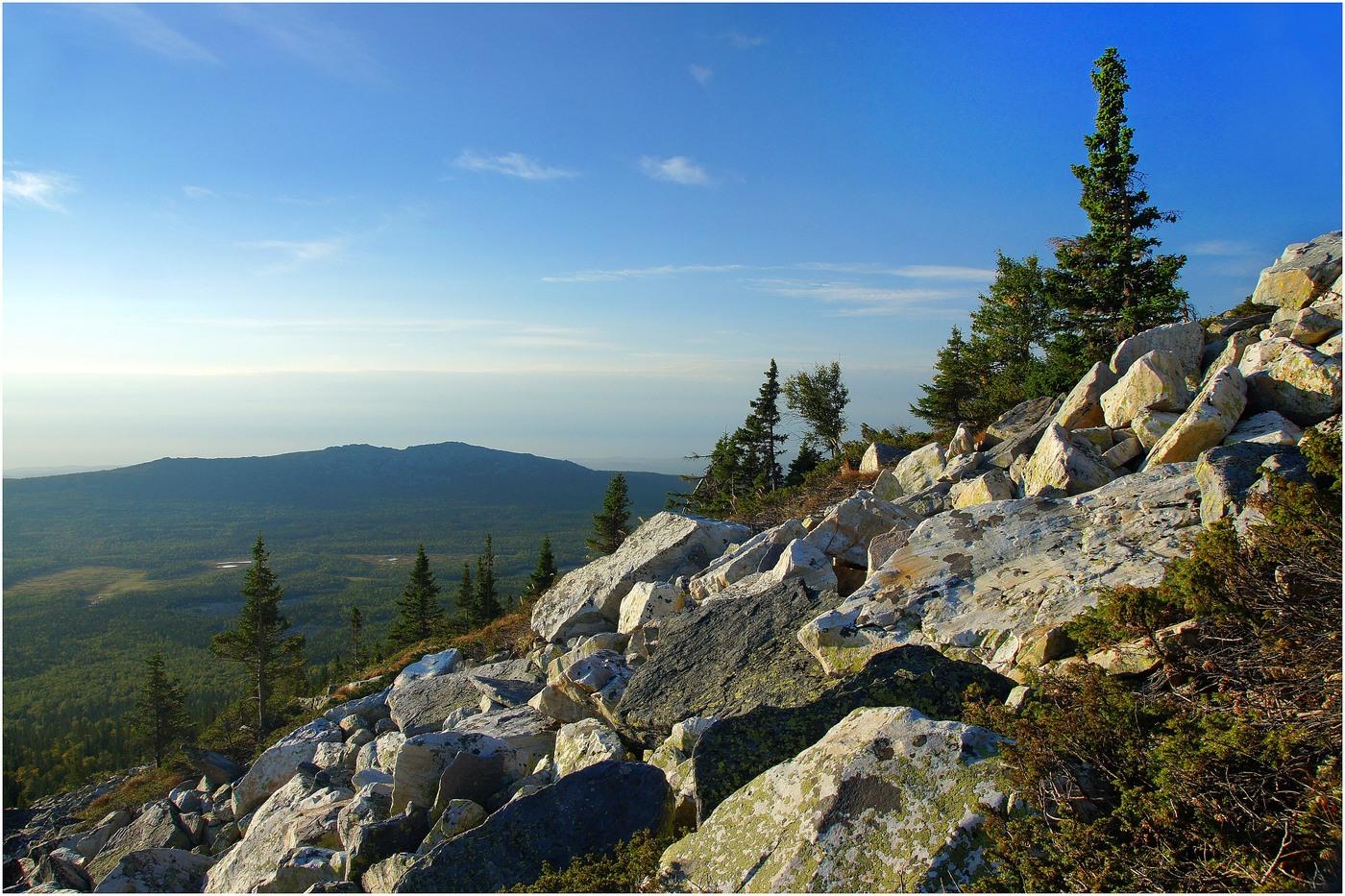 Хребты уральских гор в башкирии фото